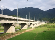 Lecuo Bridge of Xiangtang-Putian Railway